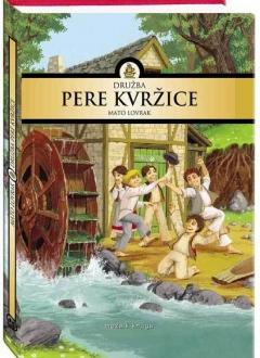Knjiga Družba Pere Kvržice - M. Lovrak slika naslovnice