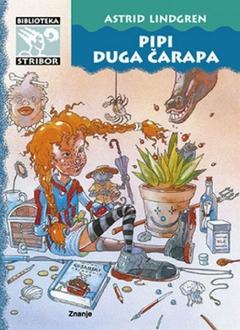 Knjiga Pipi Duga čarapa - A. Lindgren slika naslovnice
