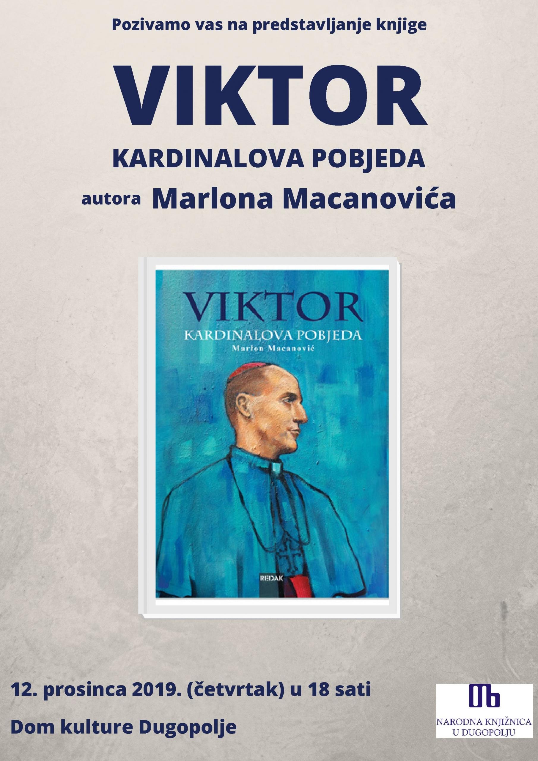 Autor Vikor - Kardinalova pobjeda slika naslovnice knjige