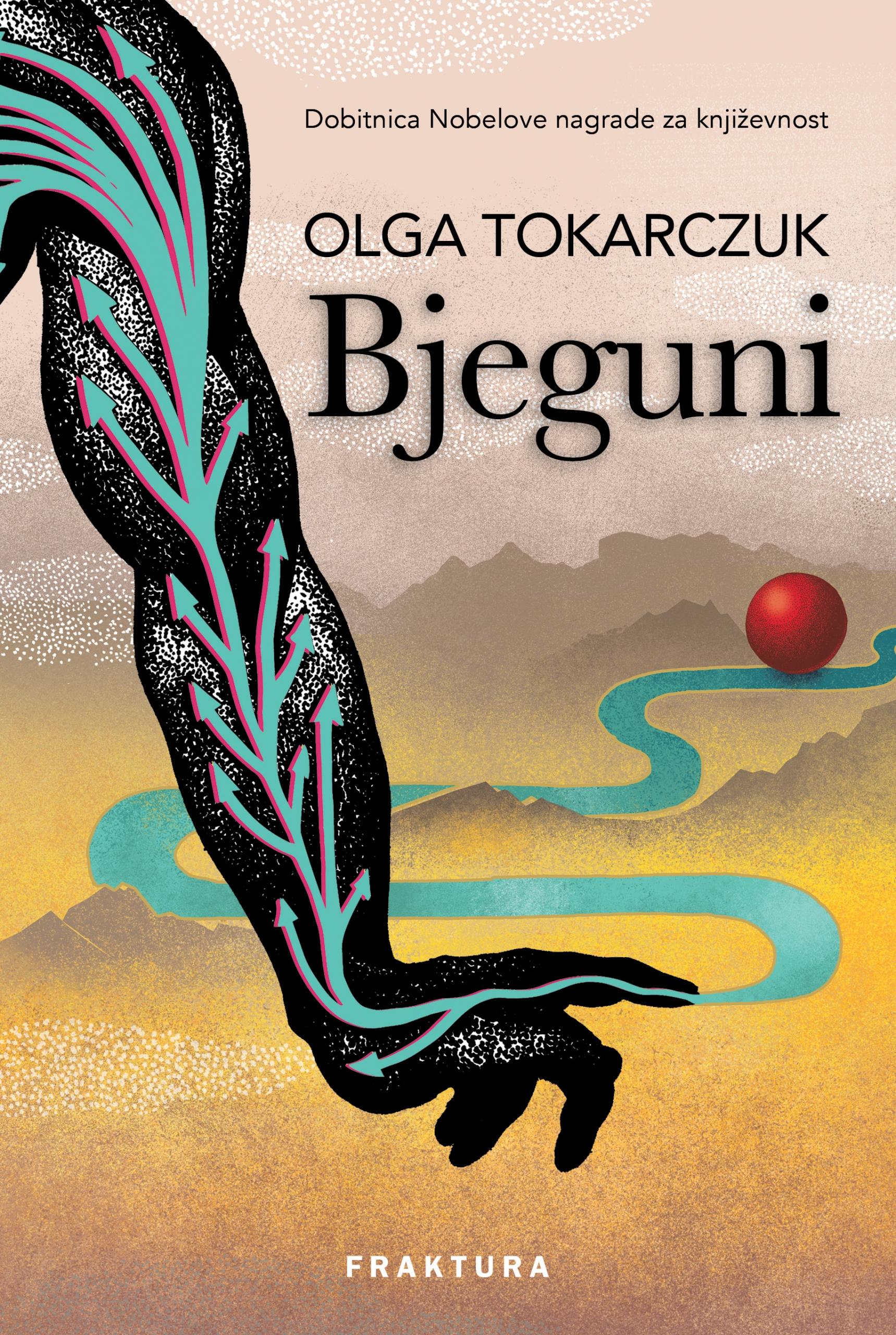 Knjiga Bjeguni - Olga Tokarczuk slika naslovnice
