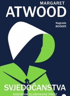 Knjiga Svjedočanstva - Margaret Atwood slika naslovnice